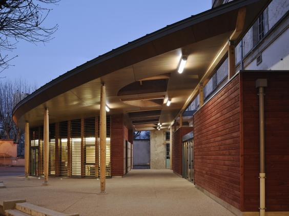 Exterieur CDI Lycée Emiland Gauthey CHALON SUR SAONE