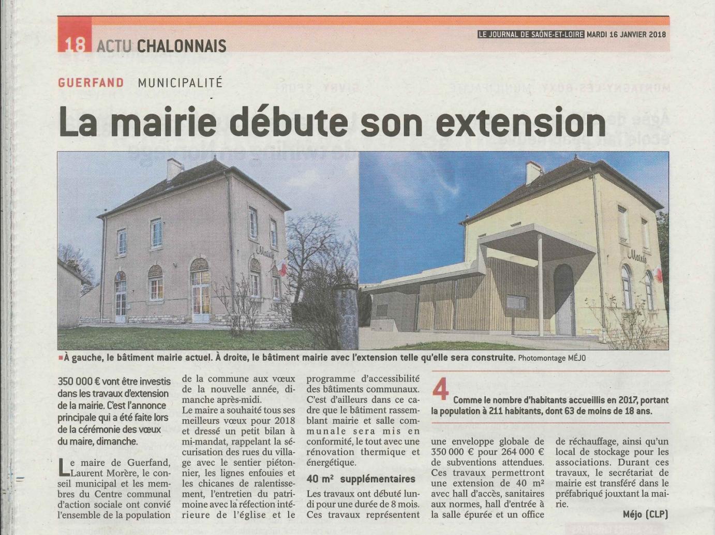 Rénovation de la Mairie de Guerfand