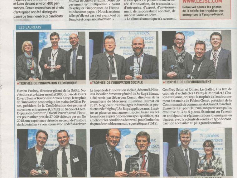 3 Eme Edition des trophées des Entreprises
