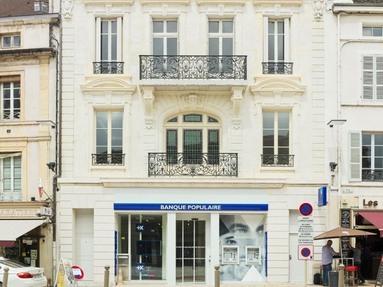 façade de l'agence